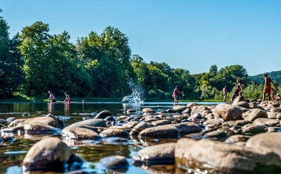 Camping 3 étoiles rivière Padirac