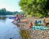 Camping bord de rivière Creysse