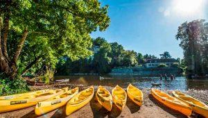 Camping Canoë rivière Lot
