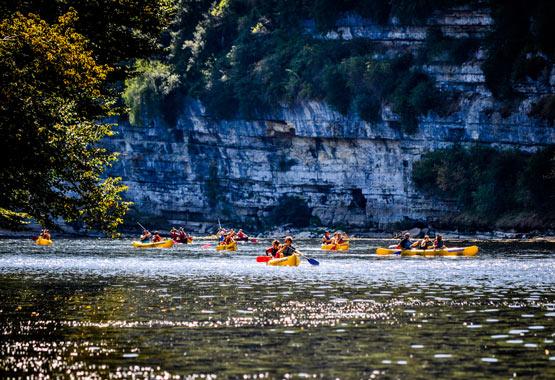 Camping canoë vallée de la Dordogne