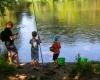 Camping étang de pêche Lot