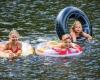 Camping familial bord de rivière Lot