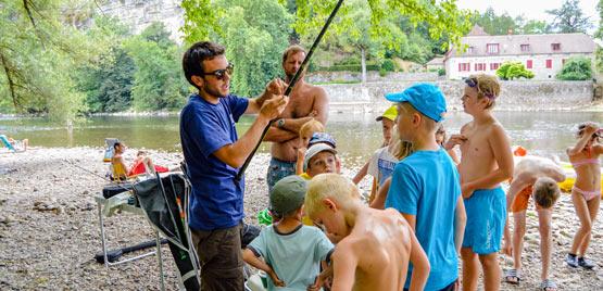 Camping pêche Lot