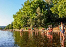 Camping rivière Creysse