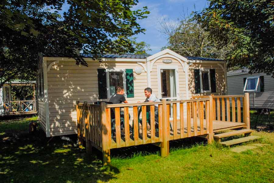 Location mobil-home camping Lot