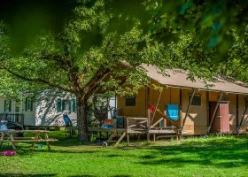Location tente insolite camping Lot